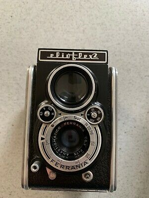 Vintage Ferrania Elioflex 2 TLR 6x6 Camera Excellent Condition