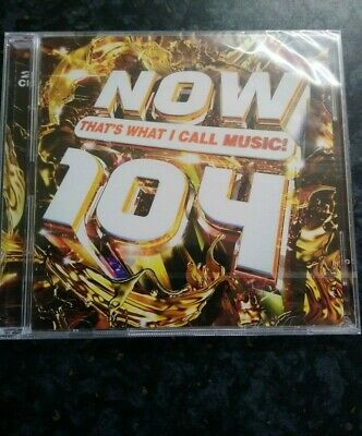 Now Thats What I Call Music 104. ** Brand New Sealed **