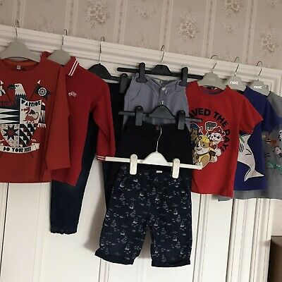 2-3 Yrs Boys 9 Items Bundle Of Jeans, Shorts, T Shirts Inc Next.
