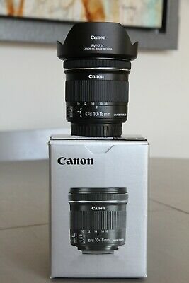 Canon EF-S 10-18 mm F/4.5-5.6 IS STM Lens