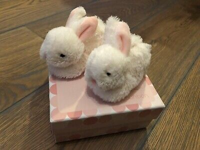 Baby Girls doudou et compagnie Slippers Booties 0-6 Months Excellent Condition