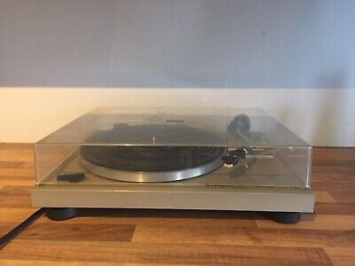 Pioneer PL-512 Vintage Stereo Turntable / Record Player Hi Fi Separate 1980's