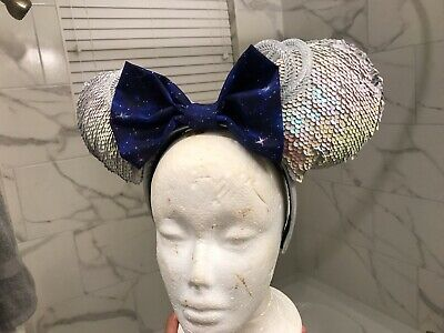 "Disney Minnie Mouse ""The Main Attraction"" INSPIRED Space Mountain Ears"