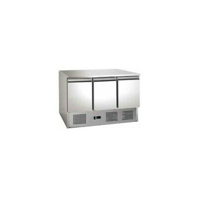 Refrigerated Saladette FC with Floor Stainless Steel - 3 Ports