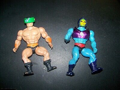 1980's HE MAN Masters of the Universe Skeletor Terror Claws & Tri Klops