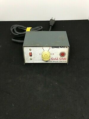 Vintage Dremel Solid State Motor Speed Control Model 219 120 Volts