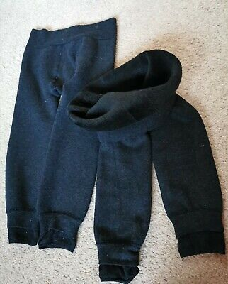 Kids Warm Leggings Faux Fur Lined Girls Soft Winter Casual Bottoms 3 years old