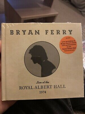 BRYAN FERRY LIVE AT THE ROYAL ALBERT HALL 1974 NEW CD - Released 07/02/2020