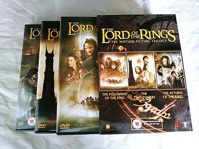 The Lord Of The Rings Trilogy (DVD, 2005, 6-Disc Set, Box Set)