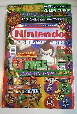 Nintendo Official Magazine Magazine 2005 Issue 149 in sealed packet