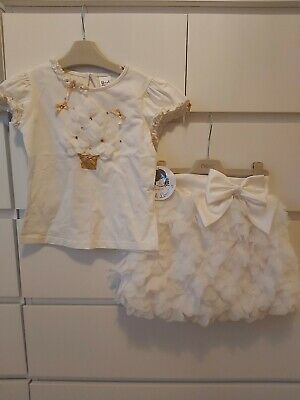 Sarah Louise Skirt And Top Set Outfit Wedding Special Occasion Dress Age 7