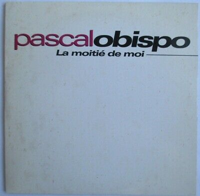 "Pascal Obispo - Cd Single Promo ""La Moitié De Moi"""