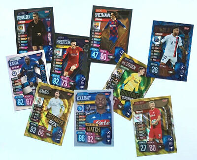 Match Attax Extra Special Cards Champions League 2019/20 - Choose From All -