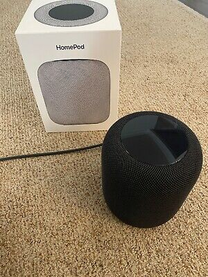 Apple HomePod Portable Smart Speaker Space Gray MQHW2LL/A