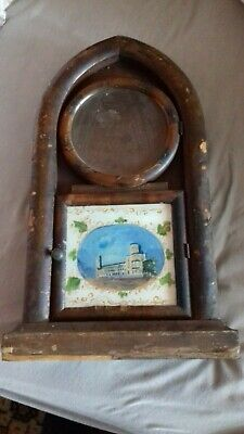 Antique. American. Jerome. Bee Hive Clock case,