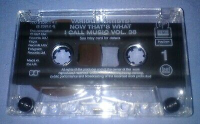 V/A NOW THAT'S WHAT I CALL MUSIC 38 cassette tape album