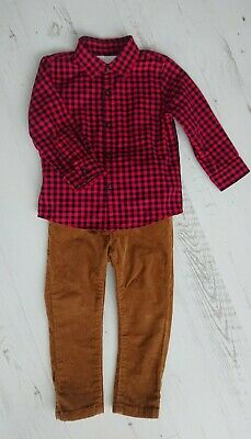 Boys Next Outfit Shirt Trousers Size 12-18 Months