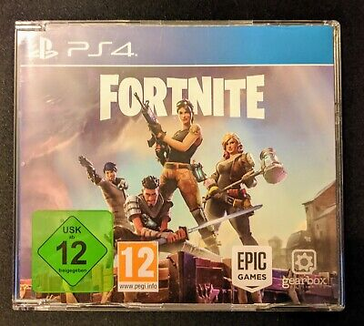 Fortnite PS4 PROMO Game Disc Version Extremely Rare PlayStation 4 Collectors