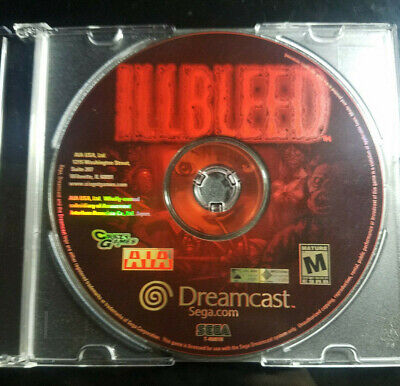 Illbleed (Sega Dreamcast, 2001) *RARE* Disc Only Tested