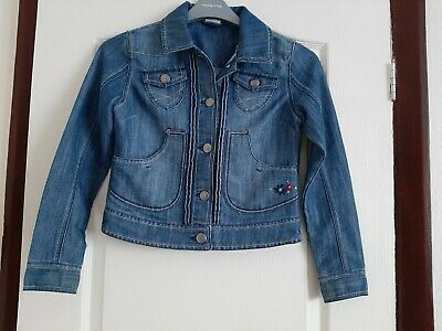 Girls Denim Jacket Age 11-12 ,Next