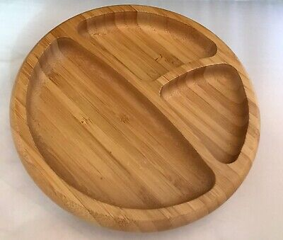 Avanchy Bamboo Suction Toddler Plate Divided Tray - LN CHARITY
