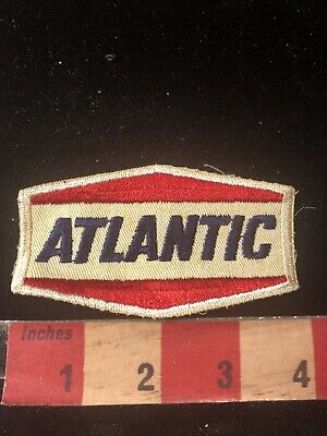 Vtg ATLANTIC Gasoline / Oil Industry Patch 80B4