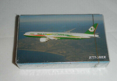 S #3 Brand New Eva Air Inflight Playing Card-Boeing B747-400 Sealed