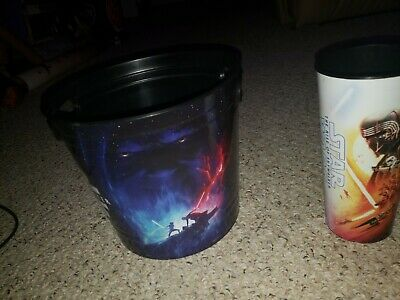 Star Wars The Rise Of Skywalker Movie Theater Popcorn Bucket and Drink Cup