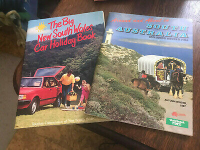 Tourist Commission Travel magazines: South Australia and New South Wales 1987
