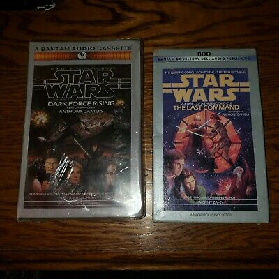 Star Wars Thrawn Trilogy Dark Force Rising And Last Command Audiobook Lot