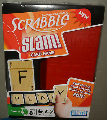 SCRABBLE Slam! card game - NEW & SEALED - Parker Brothers 2008