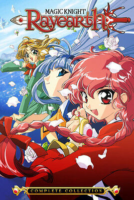 Magic Knight Rayearth: Complete Collection (2017, DVD NUEVO)10 DISC S (REGION 1)