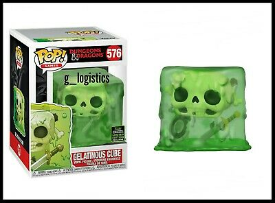 Funko Pop Dungeons & Dragons Gelatinous Cube. Eccc 2020 Shared Exclusive Presale