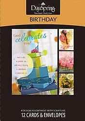 Card-Boxed-Birthday-Sweet (Box Of 12)