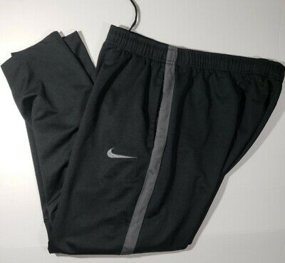 Nike Epic Knit black with Gray Stripe Training pants 2XL