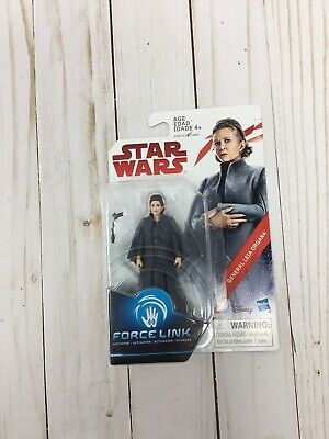 "Star Wars The Last Jedi General Leia Organa Force Link Figure 3.75"" Inch C13"