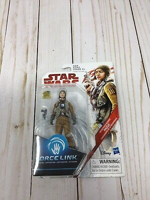 Star Wars The Last Jedi 3.75-In Figure Force Link Gunner Paige New Sealed C13