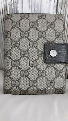 GUCCI  Address Notebook Planner Wallet 2006 Authentic NEW w/ FILLER