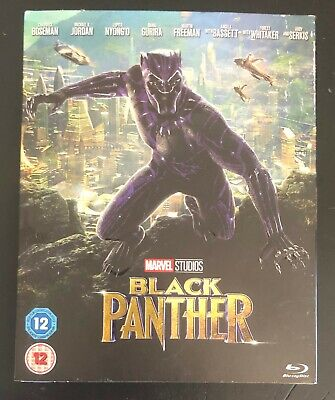 Marvel Studios Black Panther On Blu Ray New + Sealed With Outer Sleeve