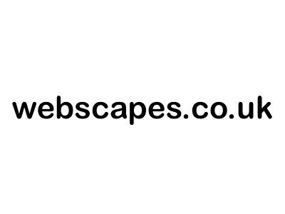 Domain Name for sale : webscapes.co.uk
