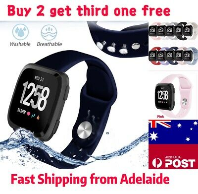 For Fitbit Versa / Versa Lite Versa2 Replacement Band Silicone Strap Wristband