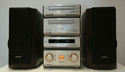 Technics SC-HD550 HiFi Component System CD,Tape Tuner Amp + Speakers