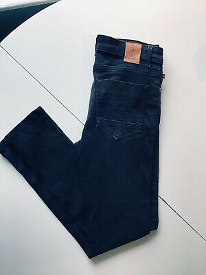 FANTASTIC VGC LUKE DENIM BLACK SKINNY BOYS JEANS VACUUM sz 12/13 Yrs