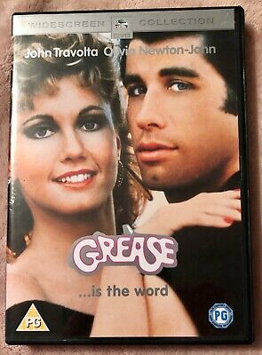 Grease (DVD, 2002) With Songbook - John Travolta, Olivia Newton-John