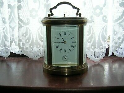 Matthew Norman 8 Day Ovale Grande Carriage Clock Repeater Alarm.