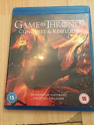 Game of Thrones - Conquest and Rebellion (Blu-Ray, 2017) Used Fast Freepost