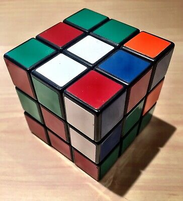 The Original Classic Rubik's Cube 3x3 Puzzle Game - hardly used