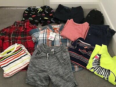 Boys Bundle Age 2-3 Shirts Jeans Shorts Tshirt Swimshort Next Gap George Primark