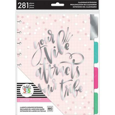 MAMBI Happy Planner 6-Month Undated Classic Planner Extension Pack, MONT-12