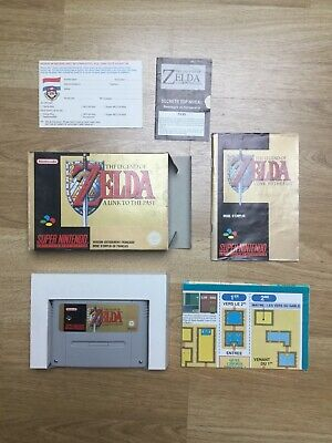 The Legend Of Zelda A Link To The Past - Super Nintendo Snes - Complet Fah Fr